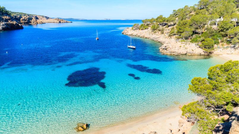 Las mejores playas del oeste de Ibiza