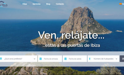 Ibiza Villa renews its website