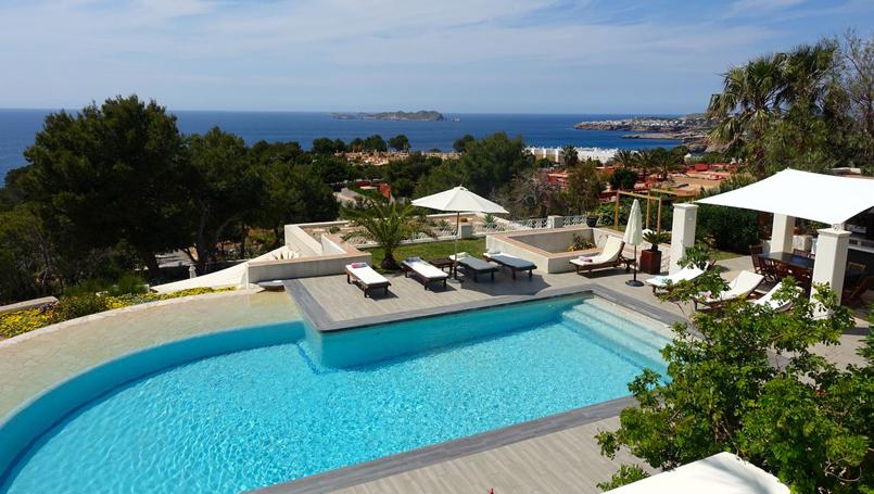 villas de lujo en Ibiza para 12 personas