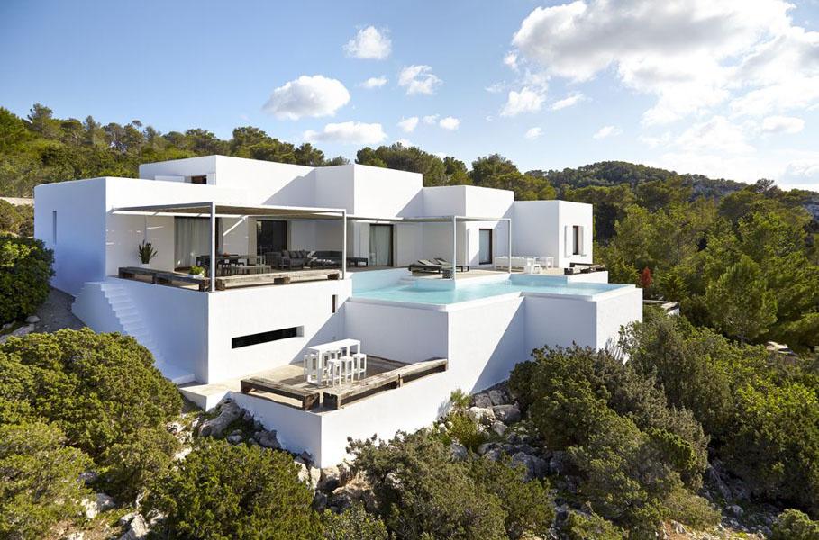 nuestras villas m‡s ailsadas en Ibiza - secluded villas in Ibiza - Ibiza Villa