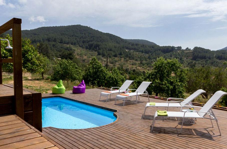 Can Petita es una de nuestras villas m‡s ailsadas en Ibiza - secluded villas in Ibiza - Ibiza Villa