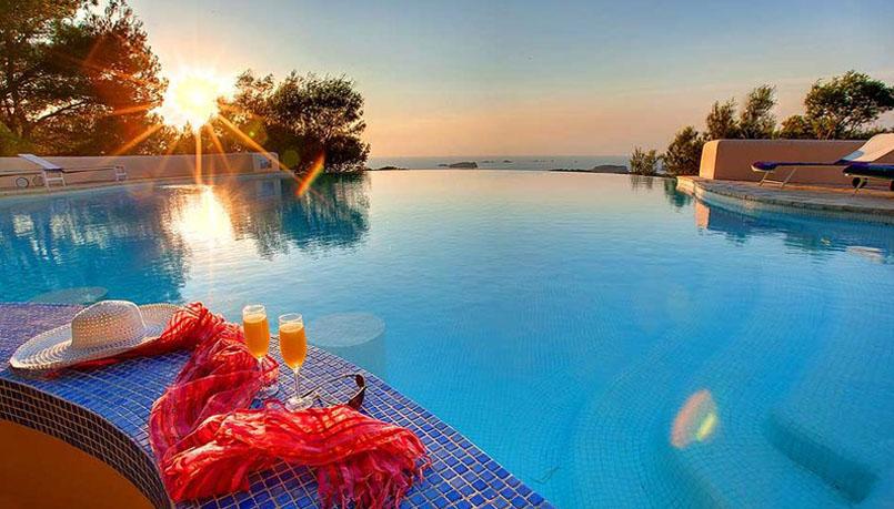 mejores villas aisladas en Ibiza