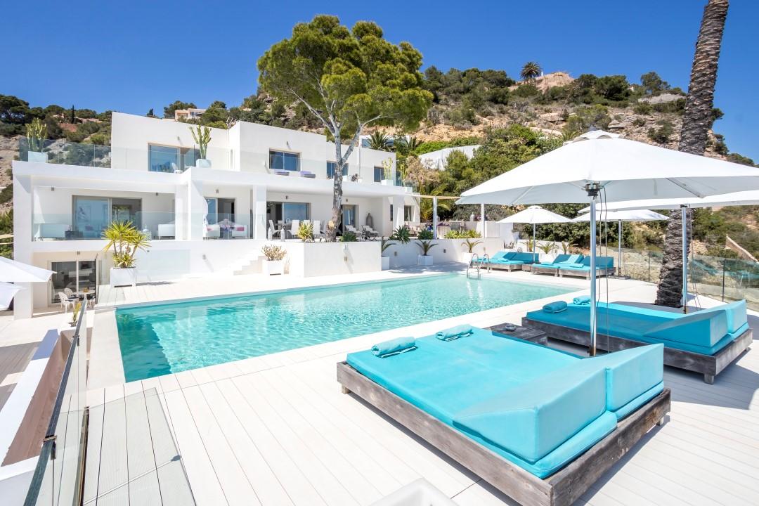 villas de lujo en el sur de Ibiza