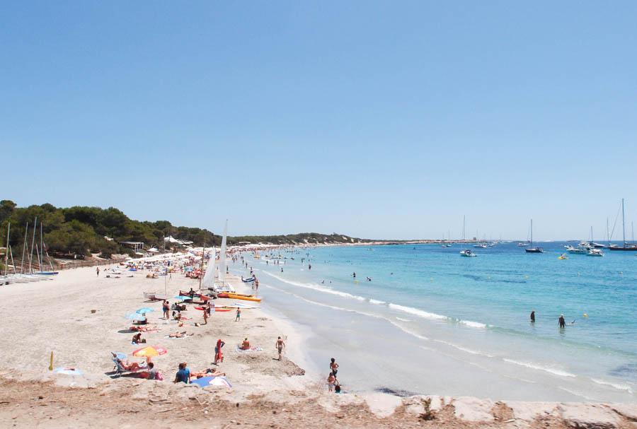 plages du sud d'Ibiza