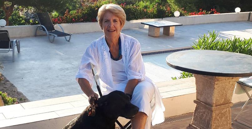 luxury villa in Ibiza, Let's meet Marie-Hélène's Ibiza