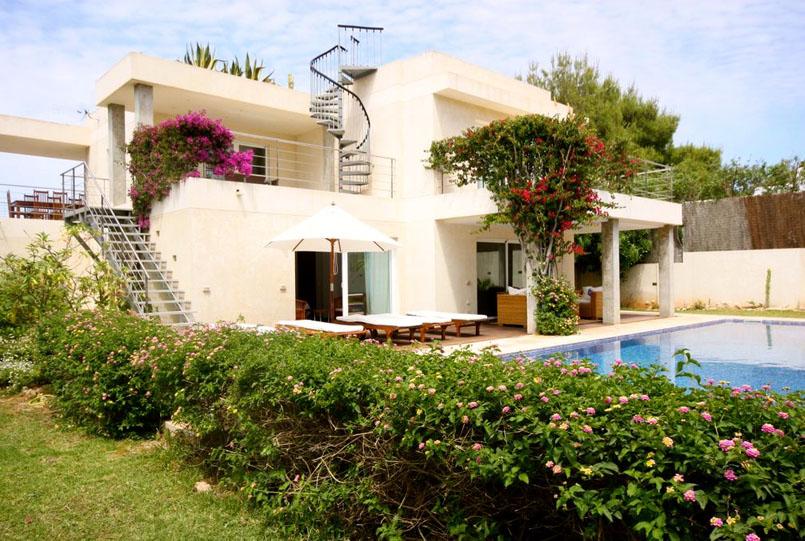 villa de luxe à Ibiza près de la plage, Notre villa de luxe du mois: Bella Mar