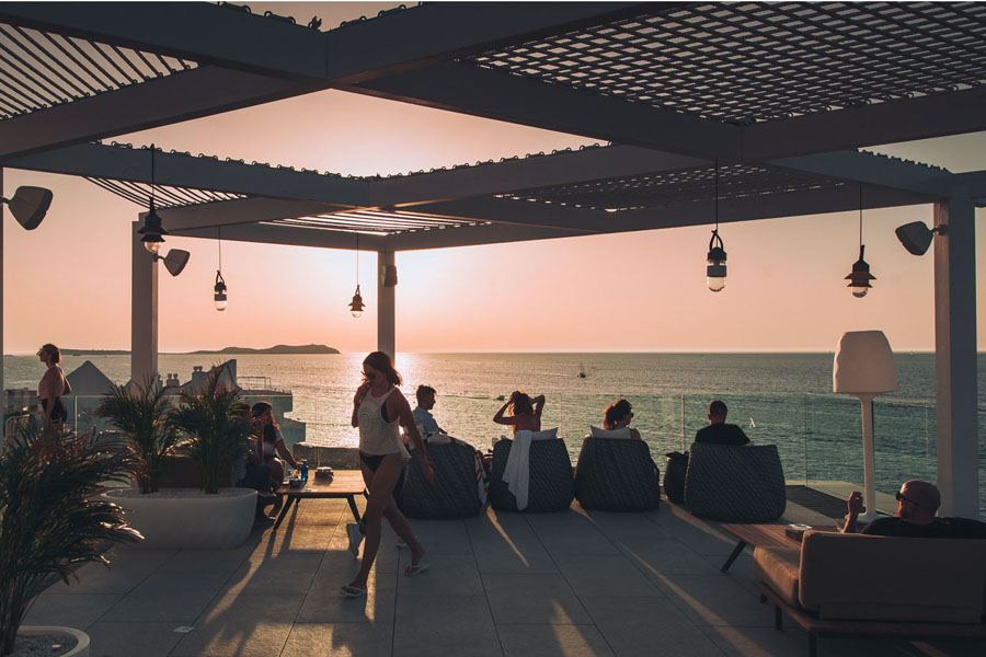 Rooftops of Ibiza, The best rooftops of Ibiza