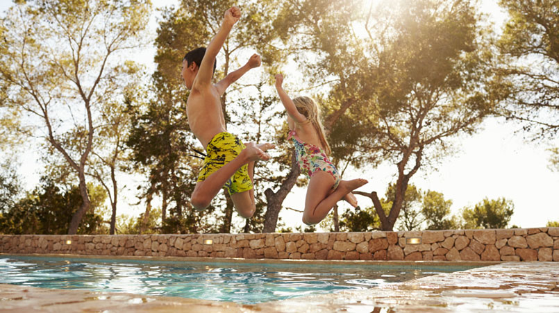 villas en Ibiza para familias family friendly villa ibiza
