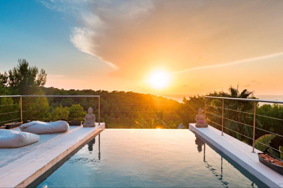 villas in Ibiza with sunset, 7 fabulous villas in Ibiza with sunset