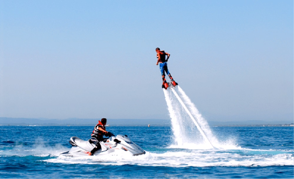 flyboard, FlyBoard Extreme Emotion in Ibiza
