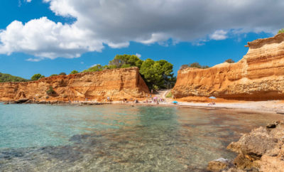 Ibiza's Beaches … Sa Caleta!!