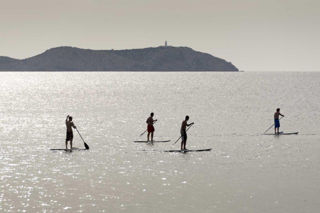 paddle, Paddle in Ibiza